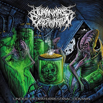 Human Mass Extermination- Under Extraterrestrial Domain CD on Rotten Music