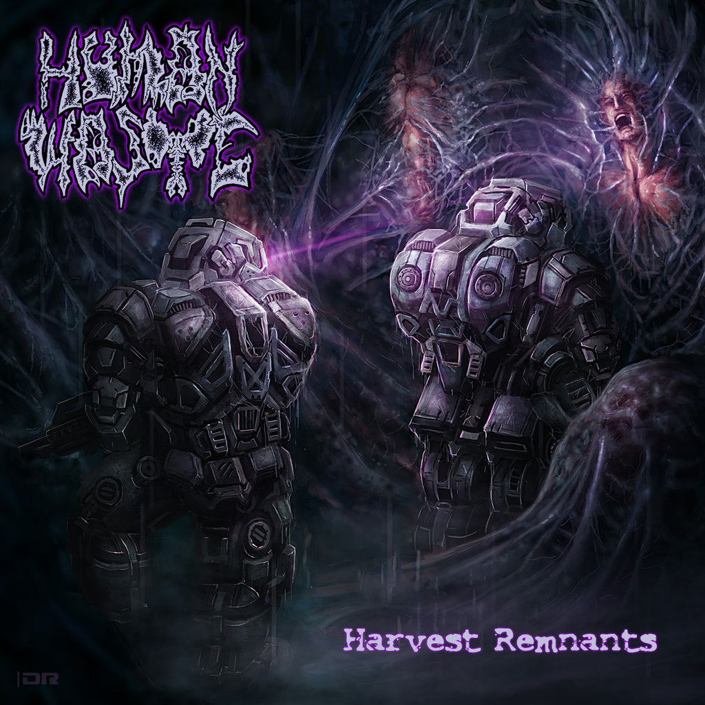 Human Waste- Harvest Remnants CD on Xtreem Music