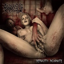 INCINERATING PROPHECIES- Depravity Incarnate CD on Sevared Rec.