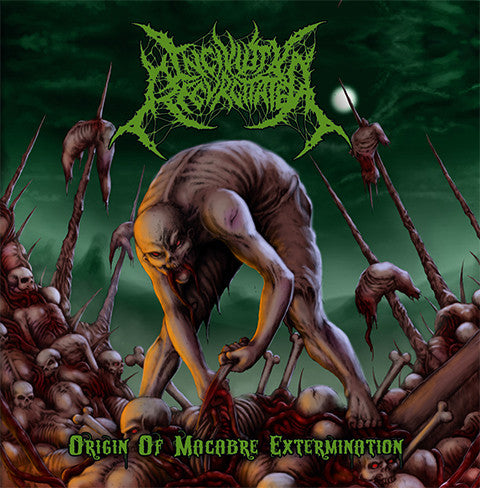 INCIVILITY REGURGITATED- Origin Of Macabre Extermination CD on Death Metal Industry