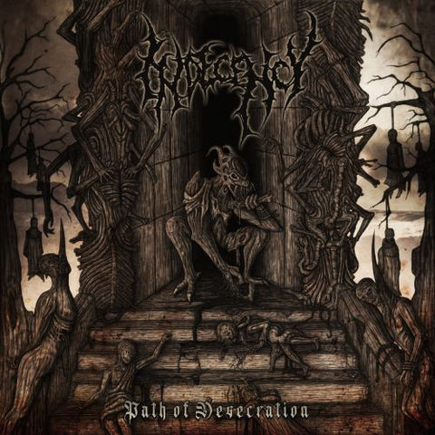 Indecency- Path Of Desecration CD on Ungodly Ruins Prod.
