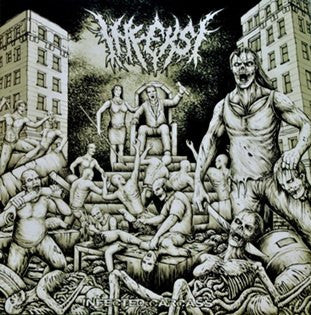 Infeksi- Infected Carcass CD on Dismembered Rec.