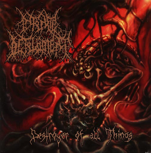 Infinite Defilement- Destroyer Of All Things CD on Rotten Music