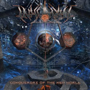 INHUMAN- Conquerors Of The New World CD on Sevared Rec.