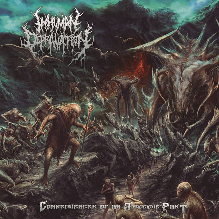 Inhuman Depravation- Consequences Of An Atrocious Past CD on P.E.R.