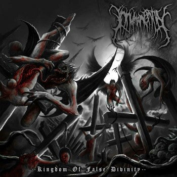 Inhuman Entity- Kingdom Of The False Divinity CD on Rotten Music