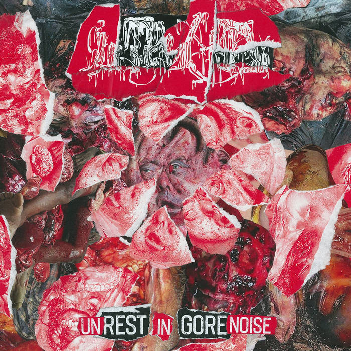 Inopexia- Unrest In Gorenoise Discography CD on Goadgrind Rec.