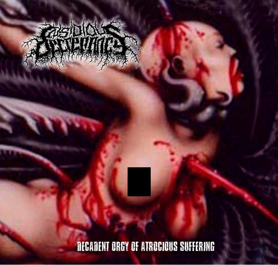 INSIDIOUS DECREPANCY- Decadent Orgy.. CD on Sevared Records