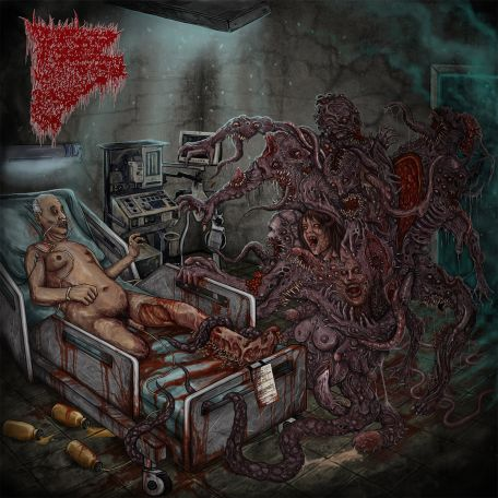 Insidious Squelching Penetration- Writhing In Darkness CD on Lord Of The Sick