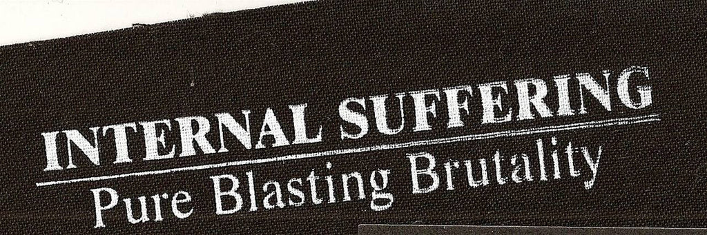 INTERNAL SUFFERING- Logo Printed PATCH