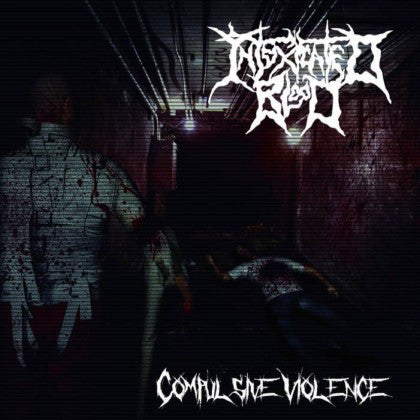 INTOXICATED BLOOD- Compulsive Violence CD on Rotten Cemetery Rec.