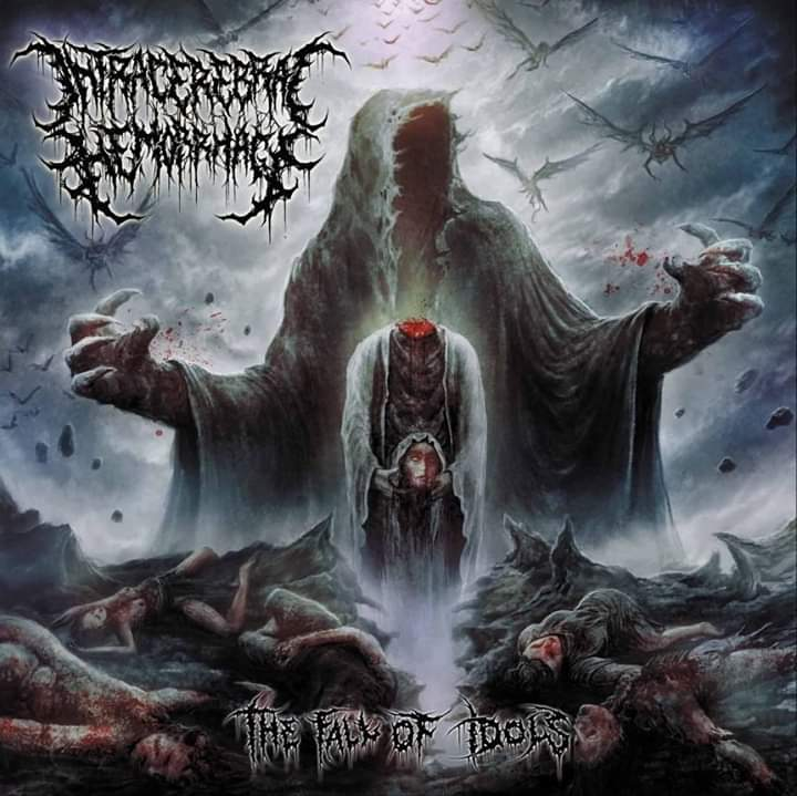 Intracerebral Hemorrhage- The Fall Of Idols CD on Deathpressive Rec.