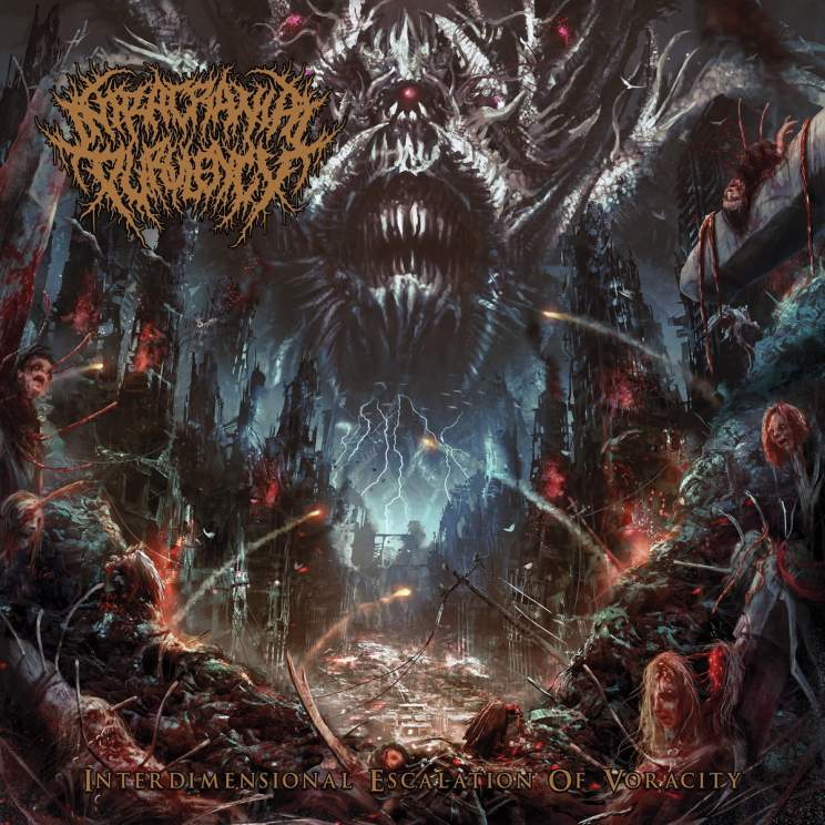 Intracranial Purulency- Interdimensional Escalation Of Voracity CD on Rotten Music
