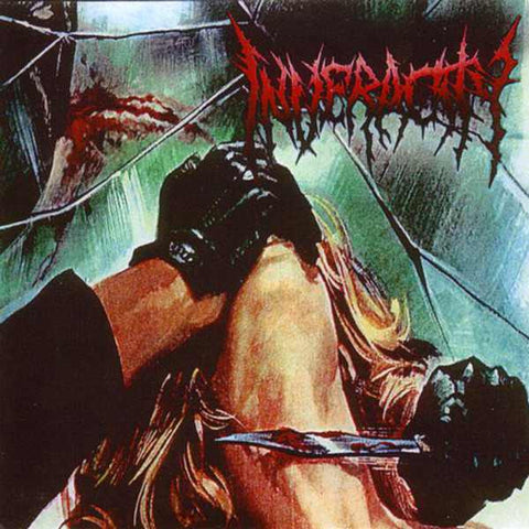 Inveracity- Circle Of Perversion CD on Unmatched Brutality Rec.