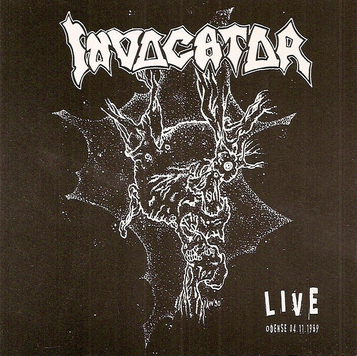Invocator- Live Odense 04-11-1989 CD on Distorted Harmony Rec.
