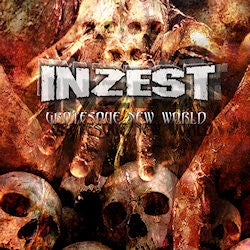 Inzest- Grotesque New World CD on Mad Lion Records