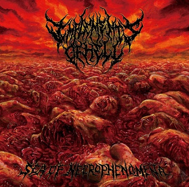 Implements Of Hell- Sea Of Necrophenomena CD on Amputated Vein