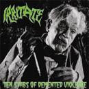 Irritate- Tens Stabs Of Demented Vi*lence CD on Blood Beast