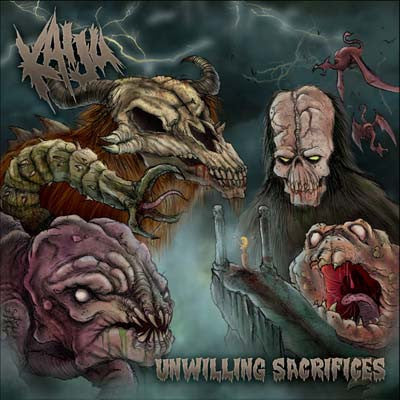 Kaiju- Unwilling Sacrifices MCD on Slaney Records