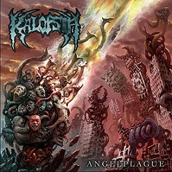 "Kalopsia- Angelplague 12"" LP VINYL on Proper Death Rec."
