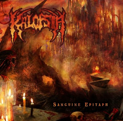 Kalopsia- Sanguine Epitaph CD on Godeater Rec.