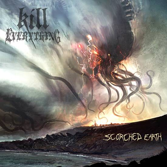 Kill Everything- Scorched Earth CD on Comatose Music