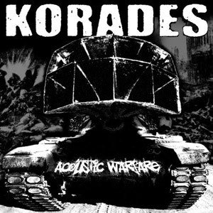 Korades- Acoustic Warfare DIGI-CD on War Anthiem Rec.