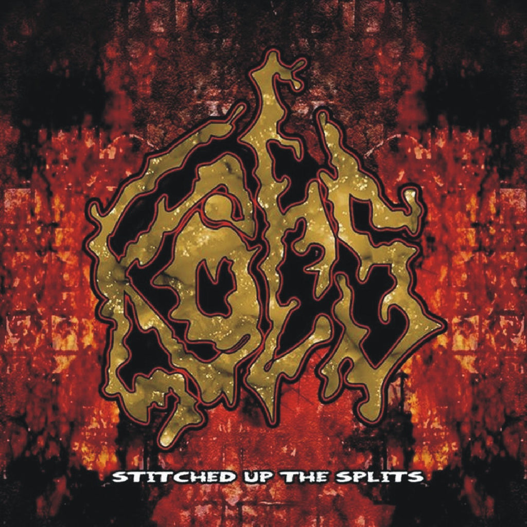 Kots- Stitched Up The Splits CD on Bizarre Leprous Prod.
