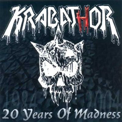 Krabathor- 20 Years Of Madness DOUBLE CD