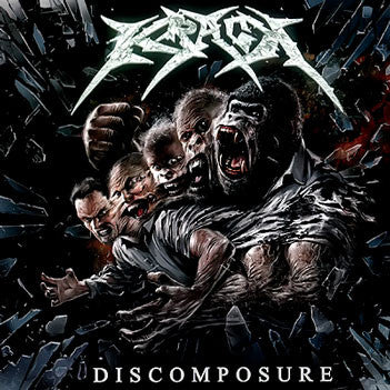 Krack- Discomposure CD on Hitam Kelam Rec.
