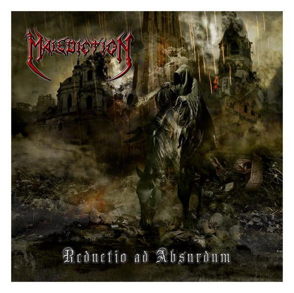 Malediction- Reductio Ad Absurdum CD on Death Trap Rec.