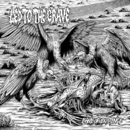 Led To The Grave- Bane Of Existence CD on Lost Apparitions