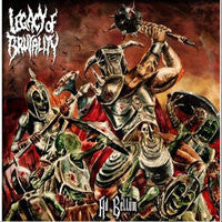 Legacy Of Brutality- Ad Bellum DOULBE CD on Chief Rec, P.E.R.