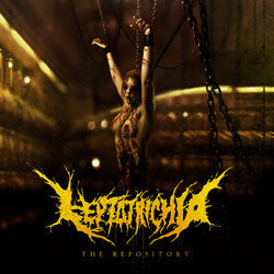 Leptotrichia- The Repository CD on Soulflesh Collector Rec.