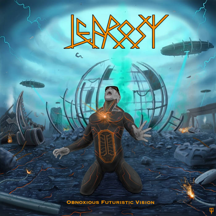 Leprosy- Obnoxious Futuristic Vison CD on PRC Rec.