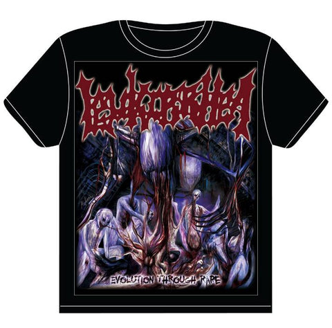 LEUKORRHEA- Evolution Through R*pe T-SHIRT S-XXL