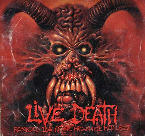 Live Death- Live at the Milwaukee Metalfest CD (Suffocation, Malevolent Creation, Cancer etc.) on Rait! Rec.