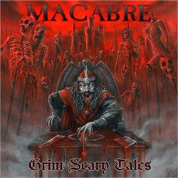 Macabre- Grim Scary Tales CD on Willowtip Rec.