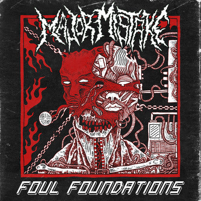 Major Mistake- Foul Foundations CD on Dismal Fate Rec.