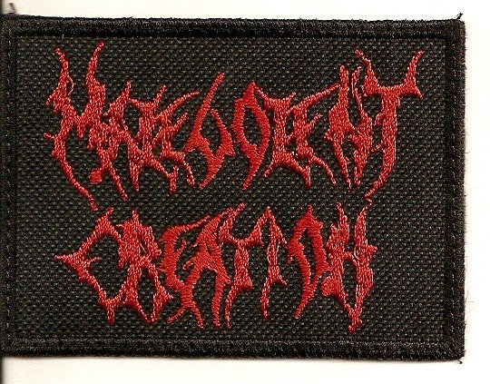 Malevolent Creation- Sewn Logo PATCH