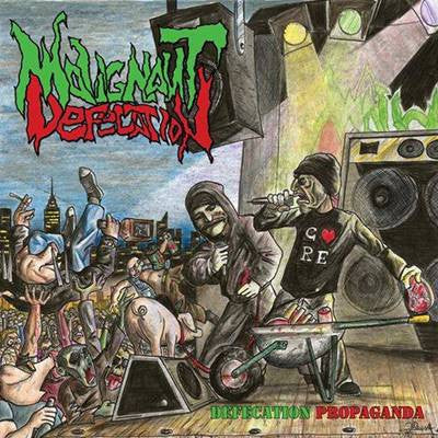 Malignant Defecation- Defecation Propaganda CD on Coyote Rec.