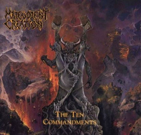Malevolent Creation- The Ten Commandments CD