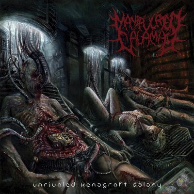 Manipulated Calamity- Unrivaled Xenograft Colony CD on Lord Of The Sick Rec.