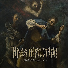 Mass Infection- Shadows Became Flesh CD on Comatose Music