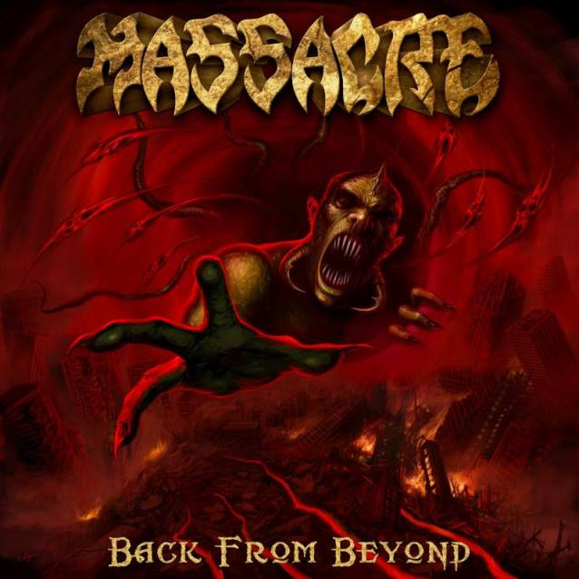 Massacre- Back From Beyond CD on Stillborn Sounds