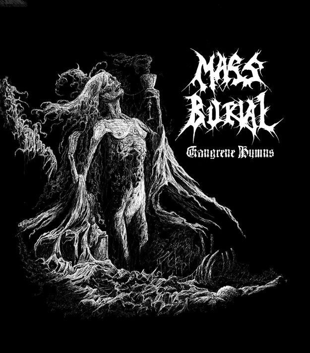 Mass Burial- Gangrene Hymns MCD on Psycho Rec.