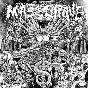 "Massgrave- S/T 12"" LP VINYL on Haunted Hotel Rec."