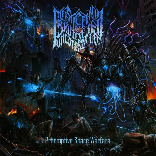 MASTICATION OF BRUTALITY UNCONTROLLED- Preemptive Space Warfare CD on Rotten Roll Rex