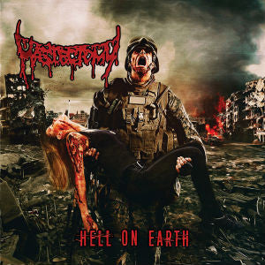 Mastectomy- Hell On Earth CD on Rotten Music