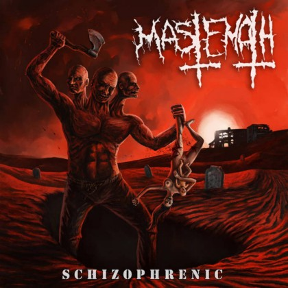 MASTEMATH- Schizophrenic CD on Sevared Rec.